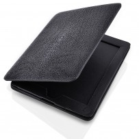 iPad 2 cover with stingray cover and leather