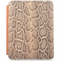 iPad 2 full-cover with Python cover and leather